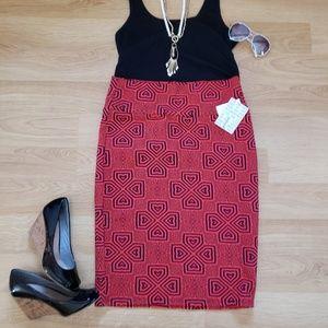 Lularoe Cassie Pencil Skirt, NWT, size Large